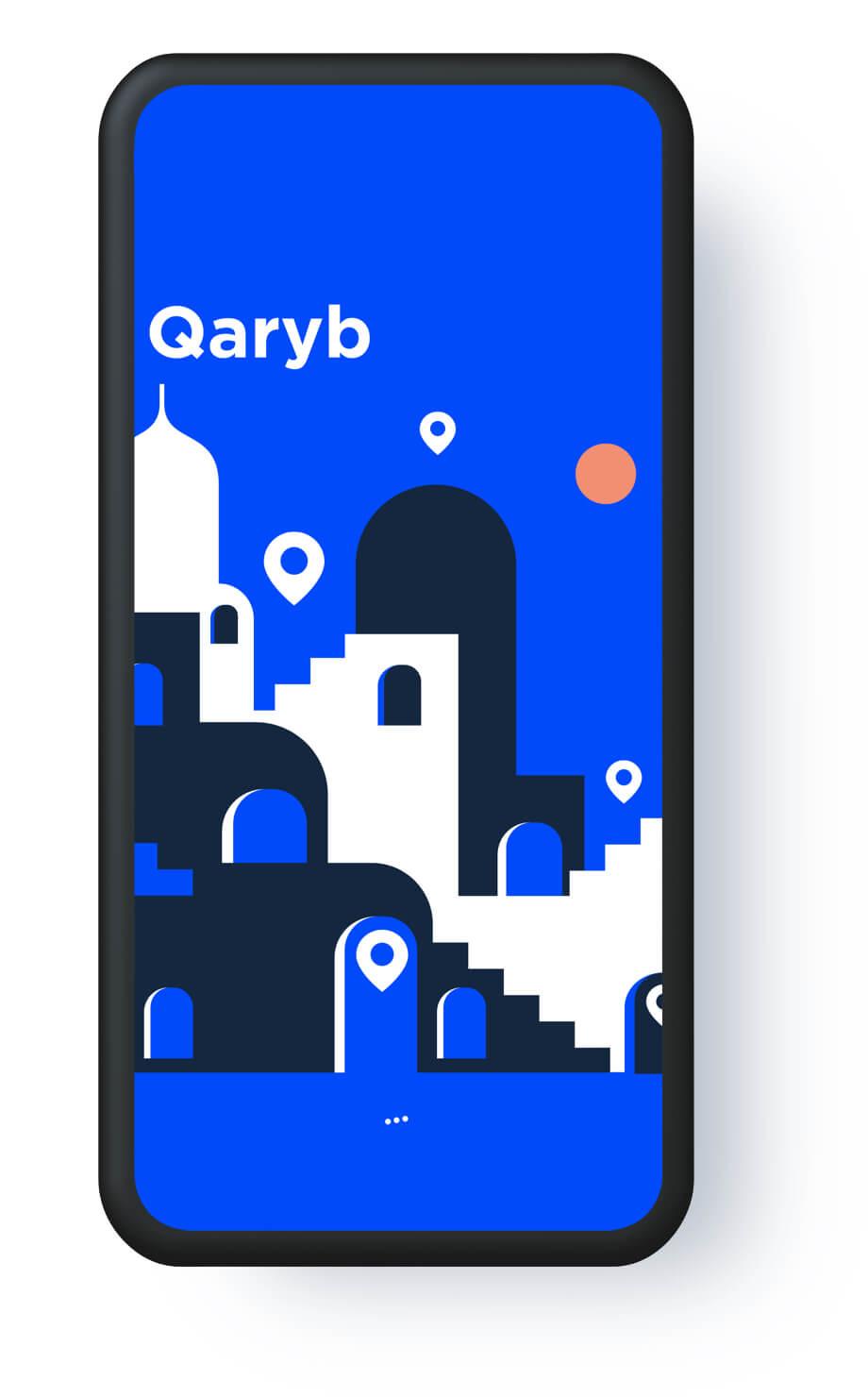 Qaryb — Mobile app